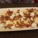 yuzu lemon cream dessert