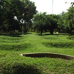A field where you can seewhere many of the mass graves were