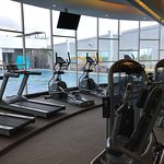 love the spacious bright gym