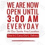 Brizio Pizza-Santa Ana | We are open till 3AM
