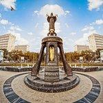 Краснодар улица Красная, фонтаны центра города