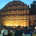 In front of Hawa Mahal