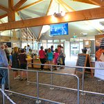 The queues at Hanmer Springs Pools & Spa can be long