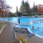 Hanmer Springs Pools & Spa has a large swimming pool