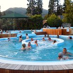 Many different pools at Hanmer Springs Pools & Spa