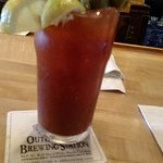 Best peel and eat shrimp and Bloody Mary at the OBX!
