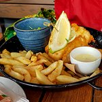 Fish and wedges