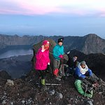 Jou Trekking: Some of our team members at the summit