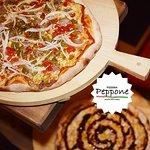Pizza rústica y barbacoa