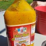 La sauce de tante May's aucun goût, mais super forte !!