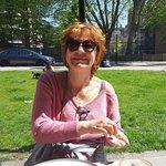 petit coin de verdure, les Londonniens profitent du soleil !!!