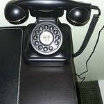 Zimmertelefon ist ein funktionierendes W48 (Siemens)