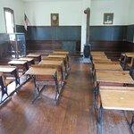 Inside school house
