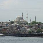 The Süleymaniye Mosque from the Bosphorus