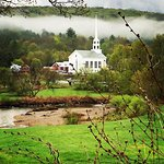 Beautiful Stowe, Vermont in May.