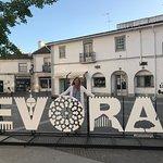 Evorra city sign