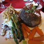Filet Oscar with Crabmeat