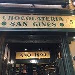 entrance to chocolateria