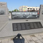 Memorial dedicated to aircraft carriers of US Navy.