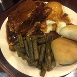 Meat Loaf Plate Lunch