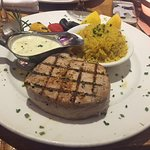 Grilled red tuna