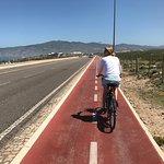 Bike riding near Cascais