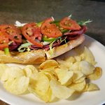 Italian Combo Sub with chips