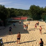 Tennis, Beach volley