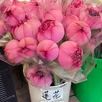 Flower Market Road Foto