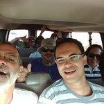 Grupo retornando dos Geiseres