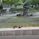 Tinguely Brunnen, a nearby feature