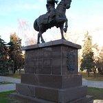 Памятник первому воеводе Царицына Засекину