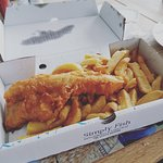 Hake & Chips takeout