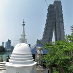 The leaning tower of Colombo?