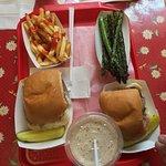 A fabulous lunch!!!