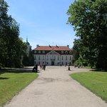 Nieborów Palace - widok z przodu