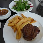 Paderborn, Steakhouse Gaucho, steak and chips
