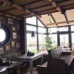 Einblick ins urig, gemütliche Café