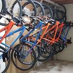Bike Hire and Indoor Bike Storage available