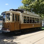 Tram by the River