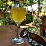 Arak with lemon and honey