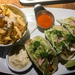 Tacos and Truffle Fries