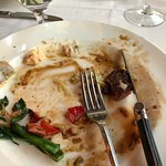 The Lake Trout, quail and filet were just wonderful