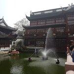 Fountain at Yu Garden (Yuyuan)