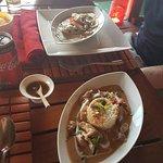 Thai green curry & tenderloin beef in paenang sauce