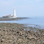 View of St Mary's Lighthouse