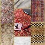 luxury pashmina stoles, saddlebags, tribal rugs, Modern rugs