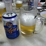 シンガポールといえばTiger Beer!