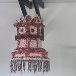 Lantern made of chillies, onions and garlic!