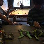Nice pool table & bar 😘😘😘